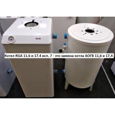 Выбор газового котла на замену круглых ростовских АОГВ 11.6-3 или АОГВ 17.4-3 без переделки подсоединения к системе отопления и проектной документации